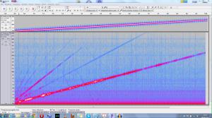 Risposta in f di idrofono piezo in aria con casse in aria